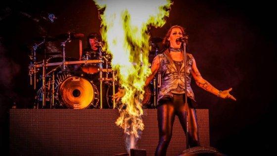 clanek_První den Metalfestu: Amfiteátrem v Plzni otřásli Nightwish či Sonata Arctica. Očekává se rekordní návštěva
