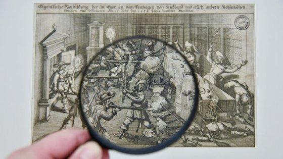 clanek_V Liberci začala výstava o třicetileté válce, miniaturní grafiky lze prohlížet s lupou